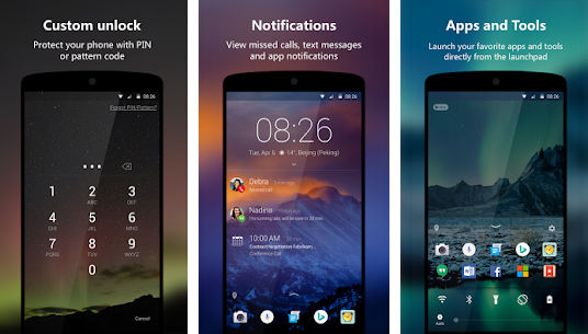 Free Microsoft Apps For Android next lock screen