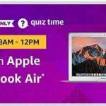 amazon apple macbook air quiz answers 22 december