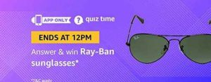 amazon ray ban sunglasses quiz answers win sunglasses free