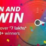 amazon spin and win contest answers 1 may 2019