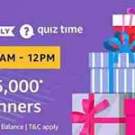 amazon rs 5000 quiz answers today win rs 5000