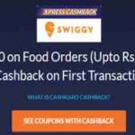cashkaro swiggy food offer free swiggy food get