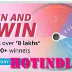 Amazon Prime Day Special Spin And WIn Answers Win Prize Up To 8 Lakhs - 15000 Winners