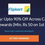 cashkaro flipkart offer free shopping get rs 50 cashback free