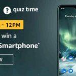 Amazon Nokia 7.2 Smartphone Quiz Answers Win Nokia Phone Free